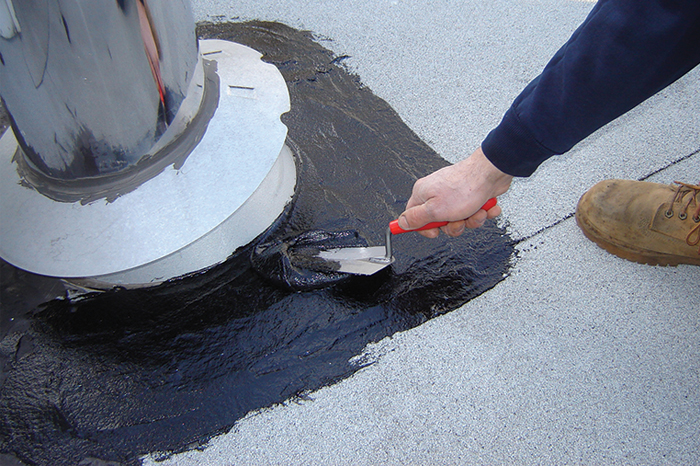 Asphalt and Cement Coating