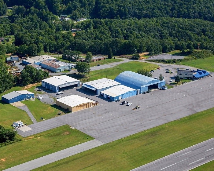 Mercer County Airport Aerial View