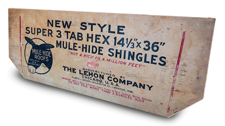 Old Mule Hide Shingle Package